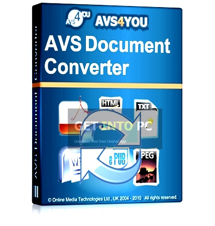 AVS Document Converter Free Download