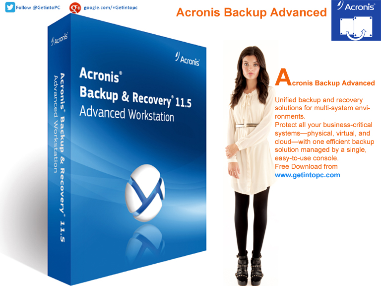 Acronis Backup Advanced Latest Version Download