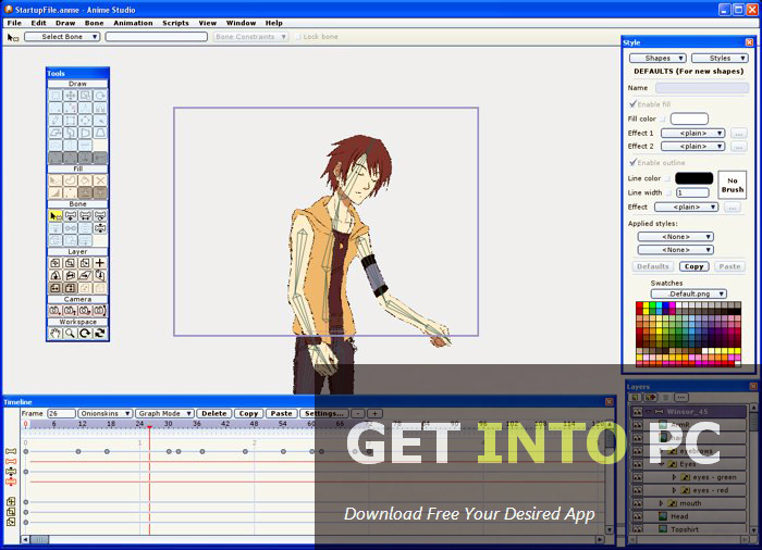 Anime Studio Pro Free Download