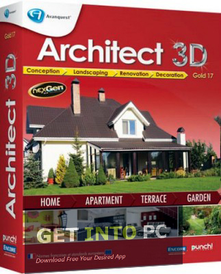 Architect 3D Platinum Offline Installer Setup