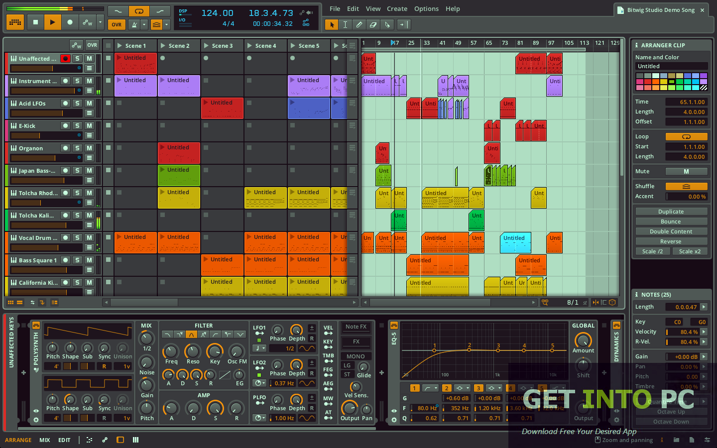 Bitwig Studio Free Download