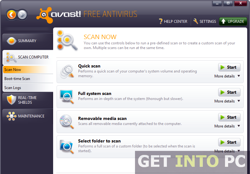 Download Avast AntiVirus Home Edition For Windows