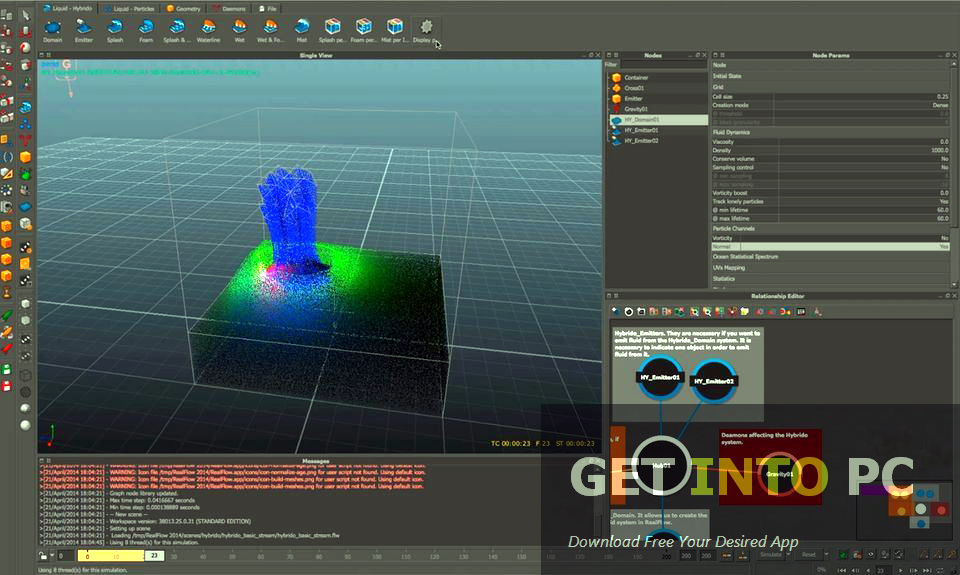 Realflow 3d software free download Free 3d software
