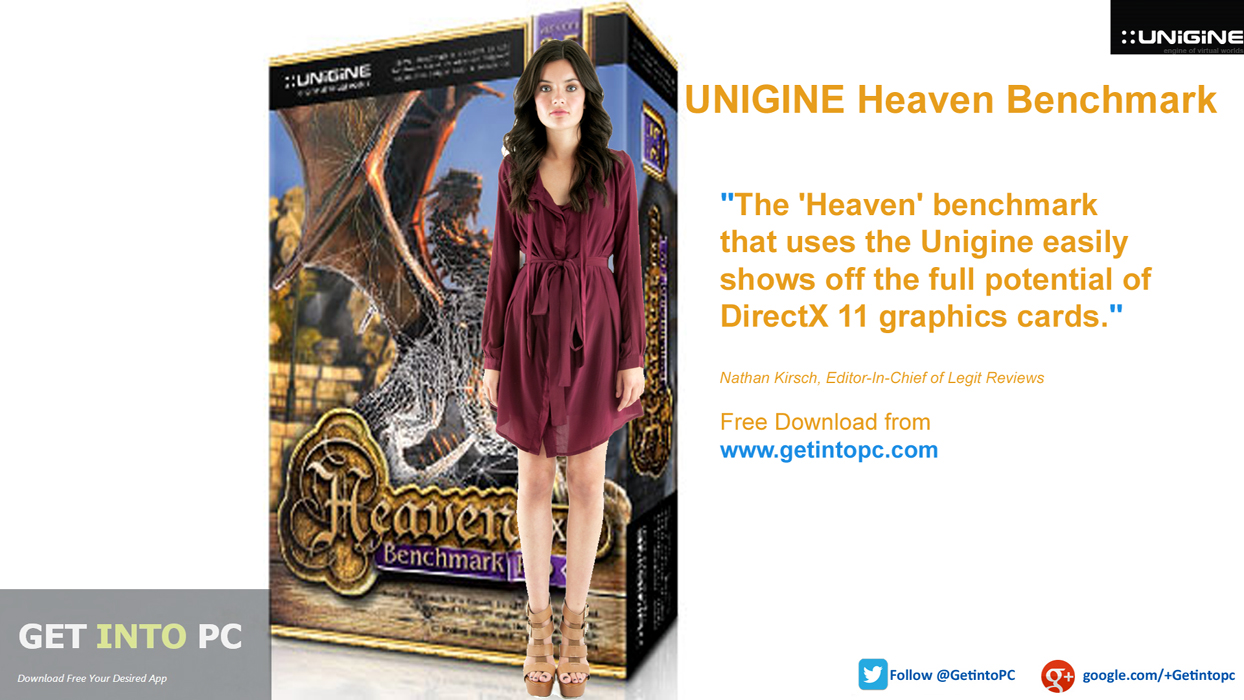 Download UNIGINE Heaven Benchmark Setup exe
