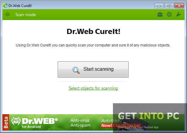 Dr.Web CureIt offline Installer