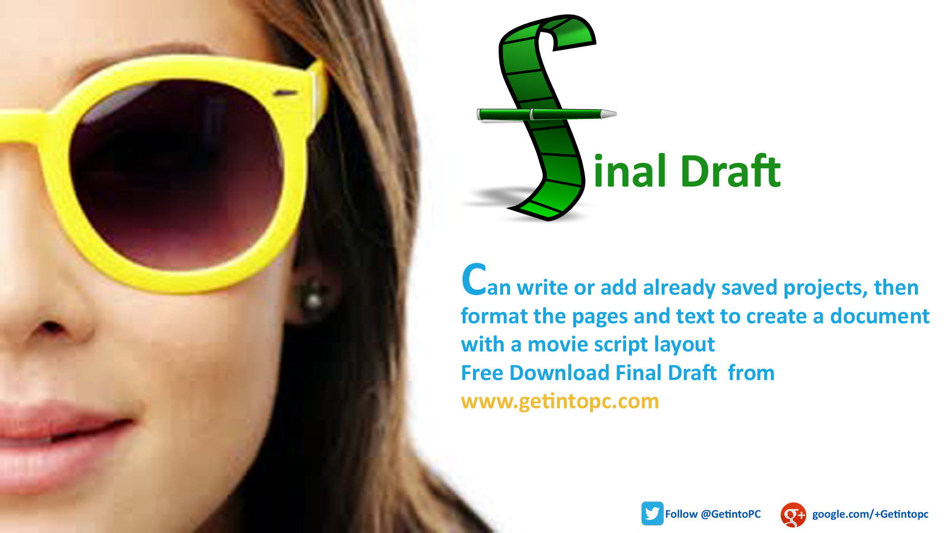 final draft for english xp Final draft is the number-one selling word processor specifically  - the vastly improved spell-checking engine comes with english  - در ویندوز xp:.