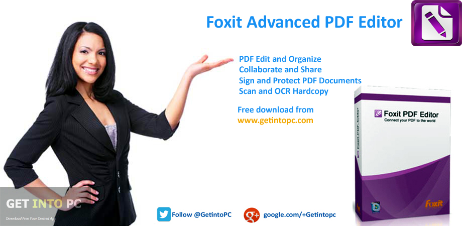 Foxit Advanced PDF Editor Latest Version Download