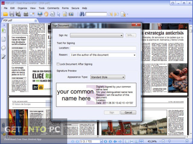 Foxit Advanced PDF Editor Offline Installer Download