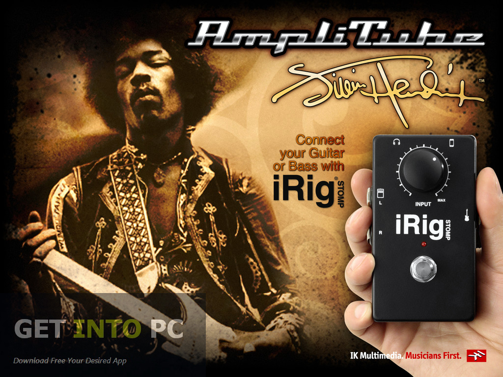 IK Multimedia AmpliTube Free Download