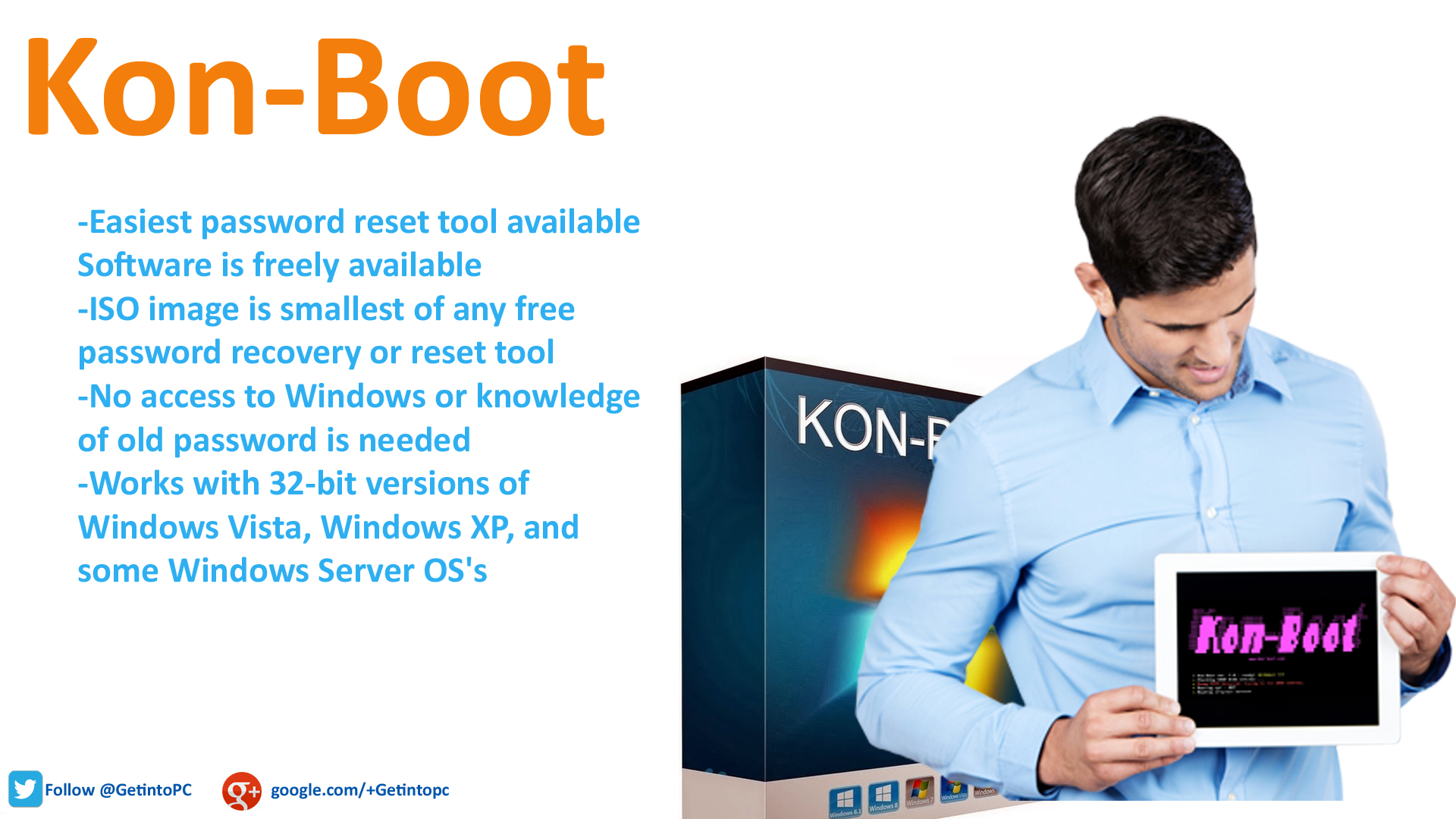 Kon-Boot Password Recovery Software
