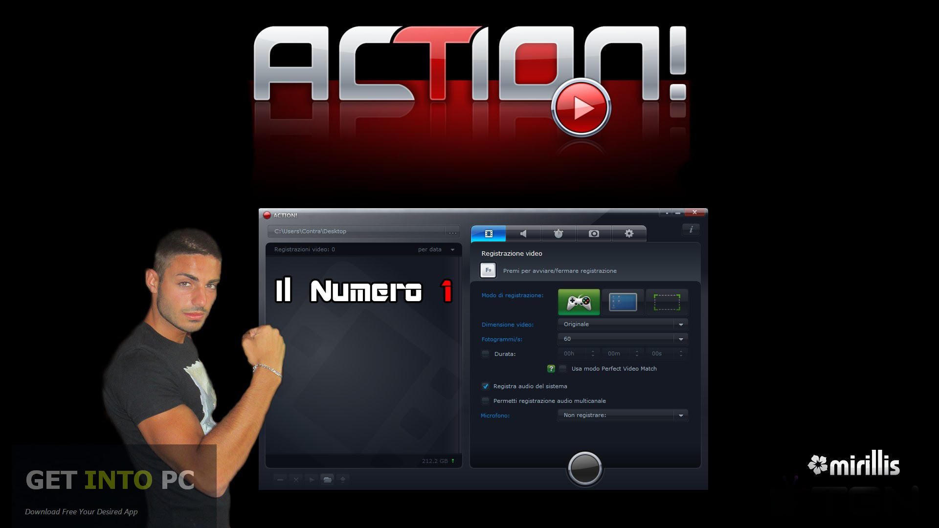 action download