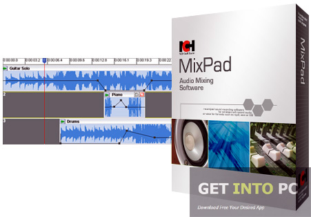 NCH MixPad Audio Mixer Free Download