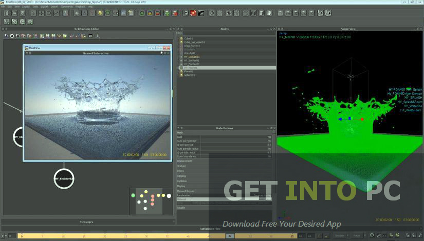 REALFLOW 3D Software Offline Installer Download
