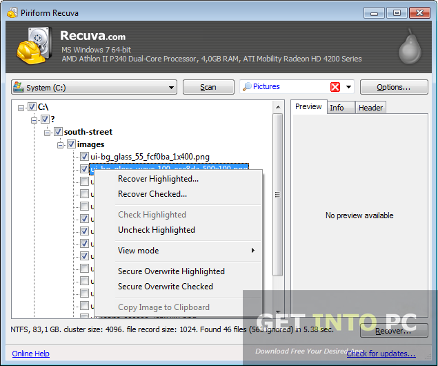 Recuva File Recovery Latest Version Download