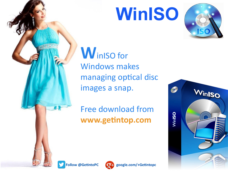 WinISO Free Download