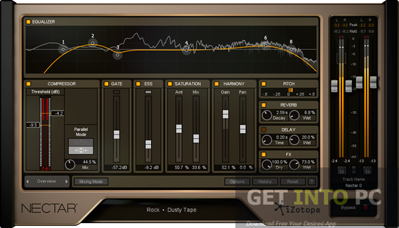 iZotope NECTAR 2 Free Download