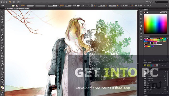 Adobe Illustrator CC 2014 Offline Installer Download