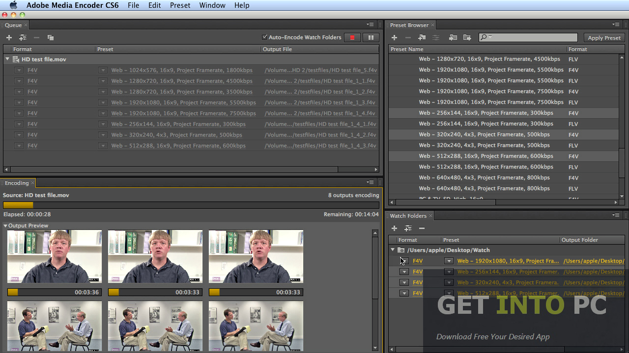 adobe media encoder cs6 تحميل