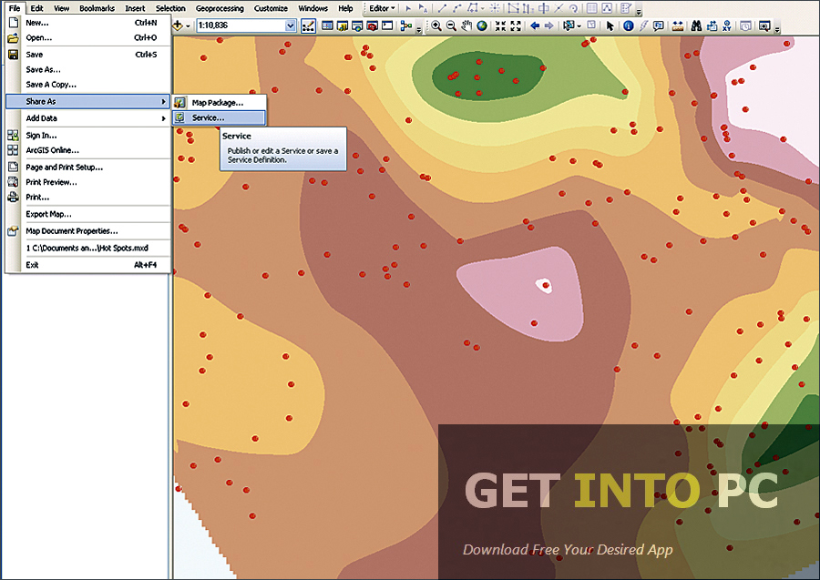 ArcGIS 10.1 Free Download