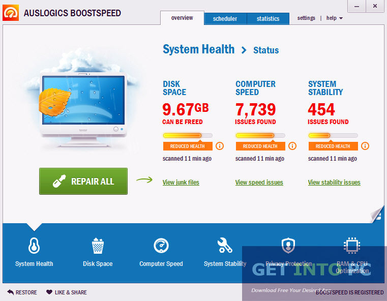 AusLogics BoostSpeed Free Download