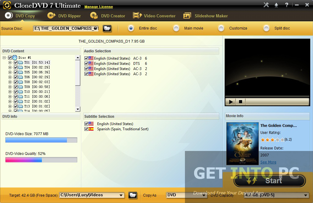 CLONE DVD Latest Version Download