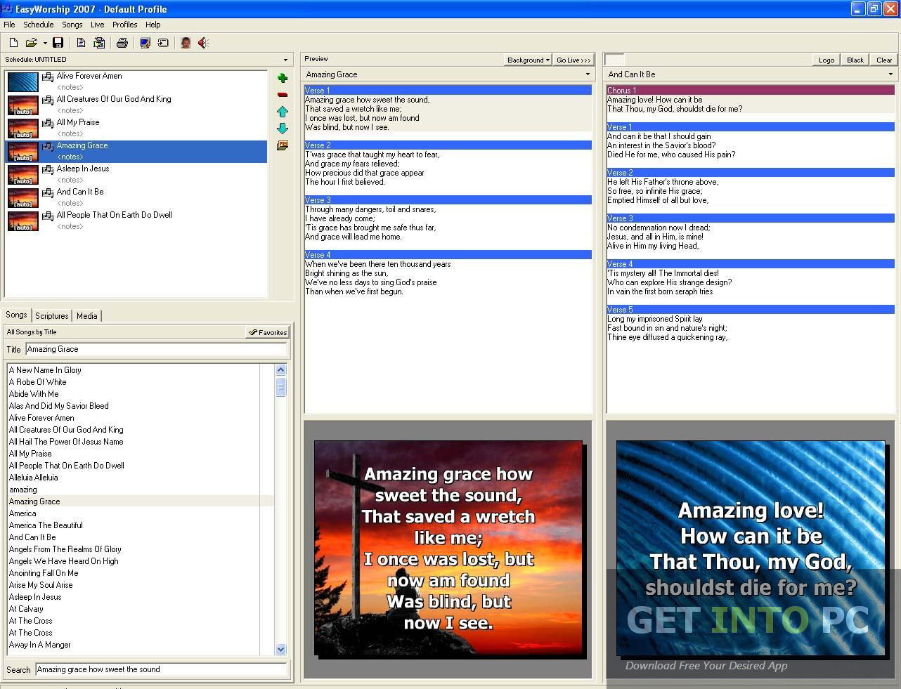 Download Easy Worship For Windows