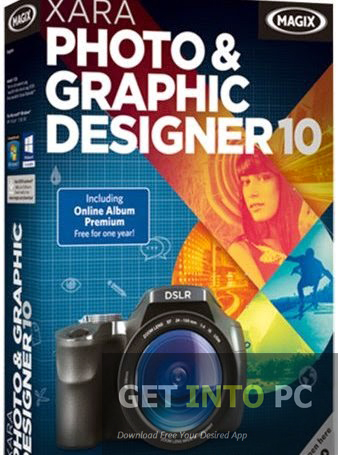 Download XARA PHOTO & GRAPHIC DESIGNER 10 for Windows