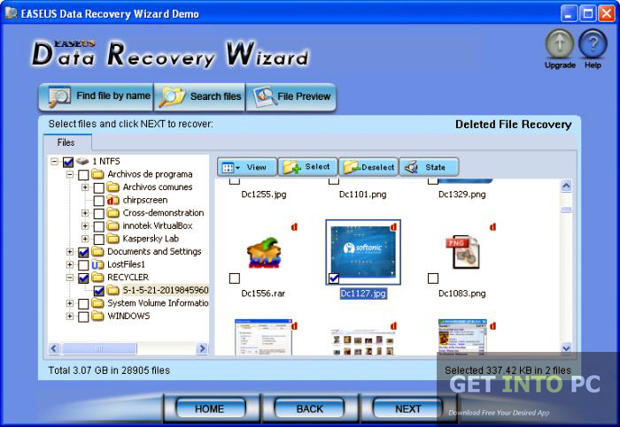 EaseUS Data Recovery Wizard Professional Download For Free