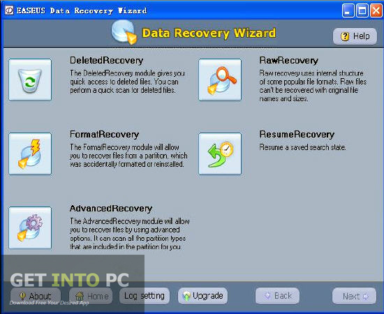 EaseUS Data Recovery Wizard Professional Free Download