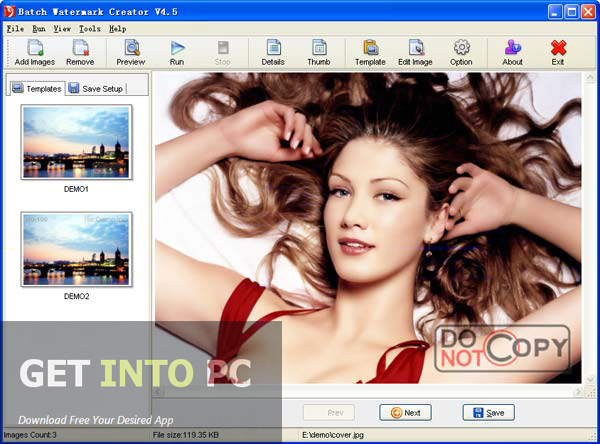Easy Tools Batch Watermark Creator Free Download