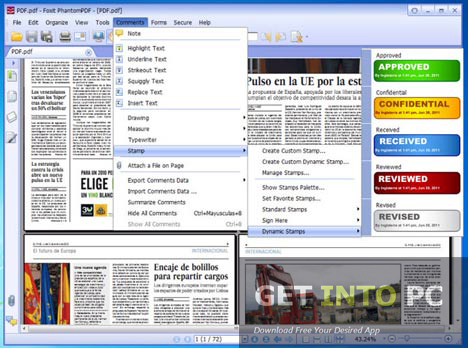 Foxit PhantomPDF Business Downloaf For Free