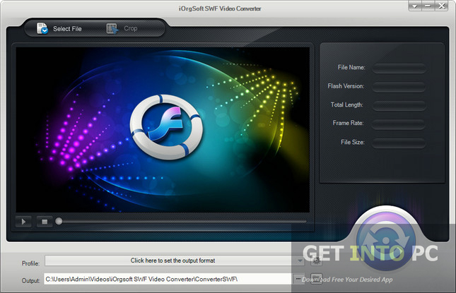 IOrgsoft SWF Video Converter Free Download