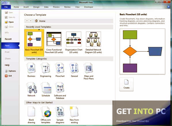 Microsoft Visio 2010 Direct Link Download