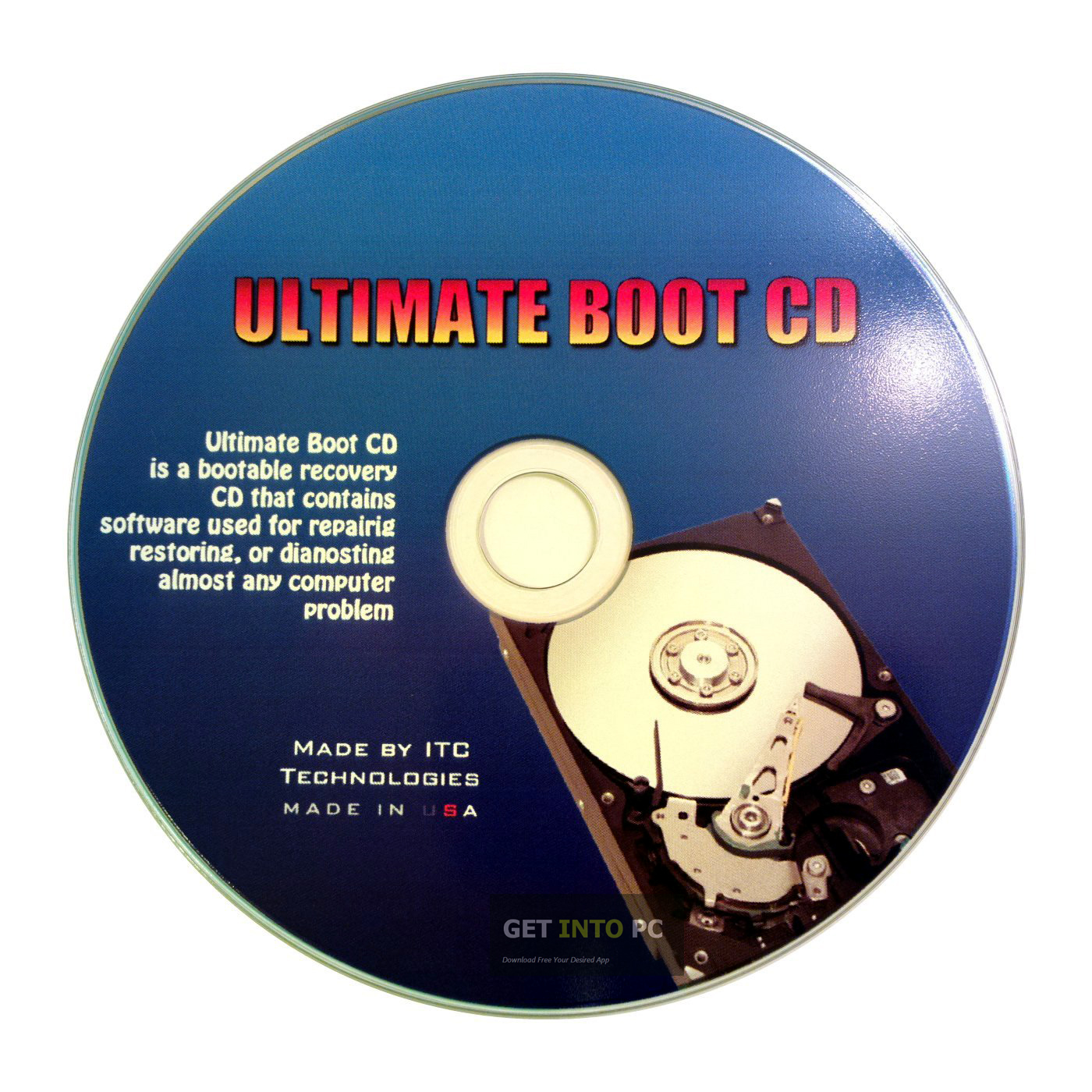 Ultimate Boot CD Download ISO Image