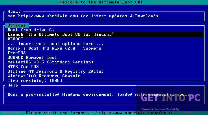 Ultimate Boot CD Latest Version Download