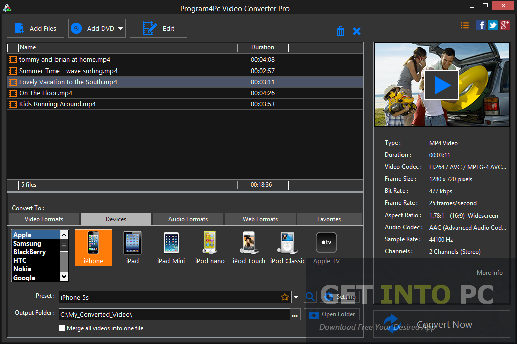 Video Converter Pro Free Download