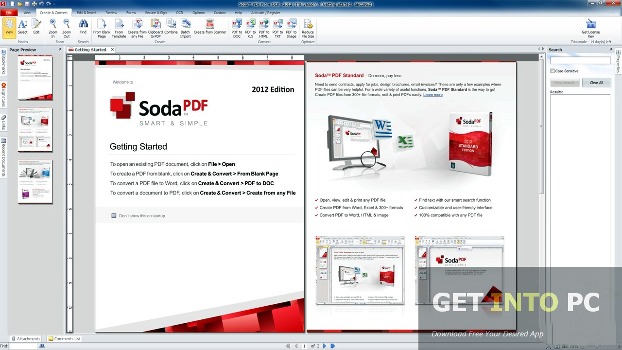 Download Soda PDF Pro For Windows