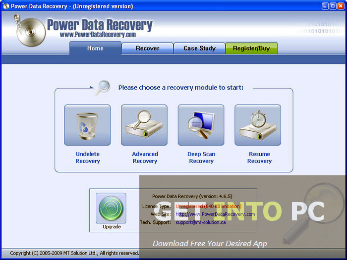 Power Data Recovery Free Download