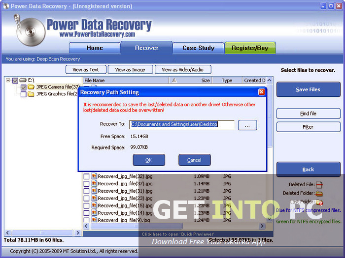 Power Data Recovery Offline Installer Download