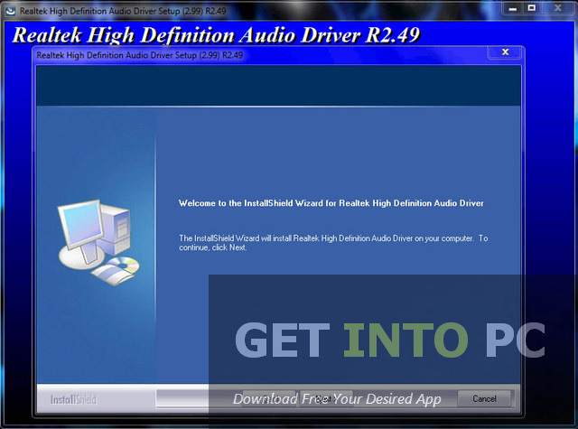 Realtek High Definition Audio Driver Download