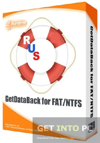 Data recovery software getdataback.