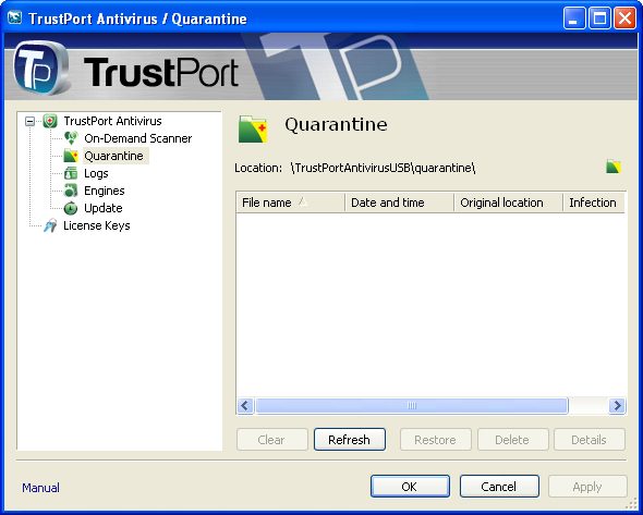 TrustPort Antivirus USB Edition Direct Link Download