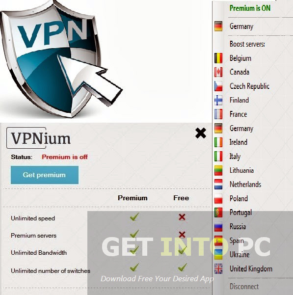 VPNium Latest Version Download