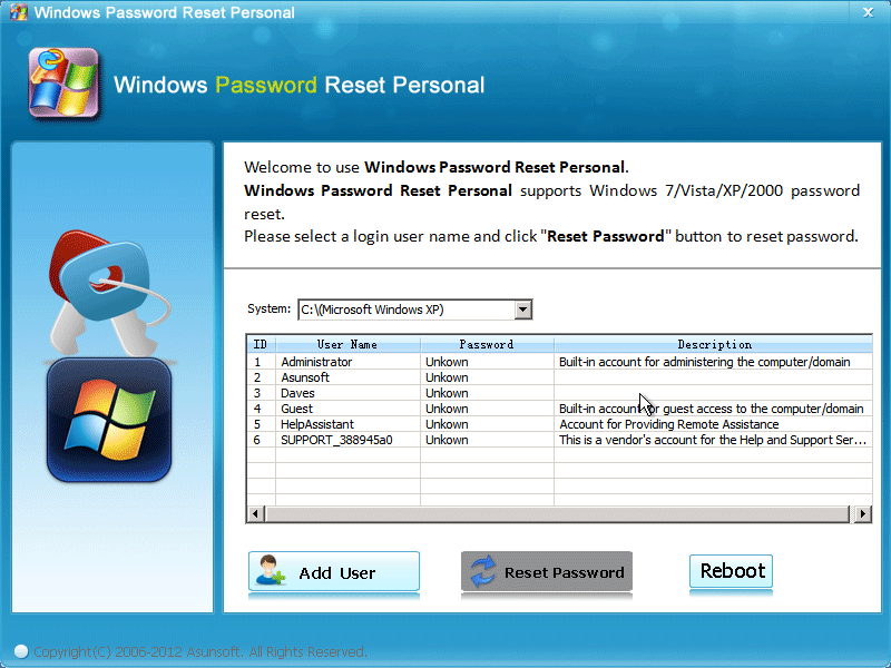 Windows Password Reset Recovery Disk Direct Link Download