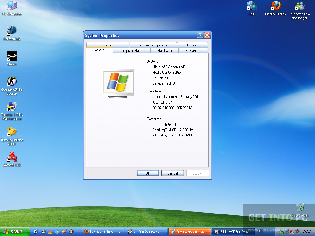 Windows XP Home Edition SP3 Direct Link Download