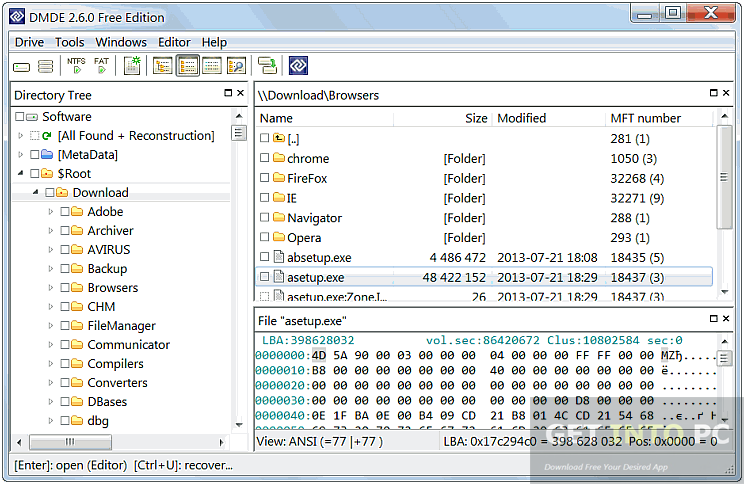 DM Disk Editor and Data Recovery Direct Link Download