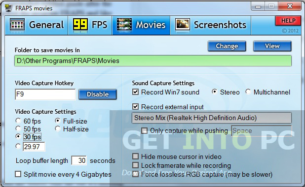 Download GamePlay Recorder Setup exe