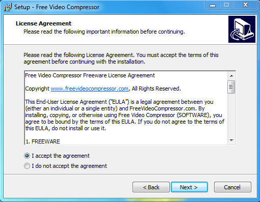 Download Video Compressor Setup exe