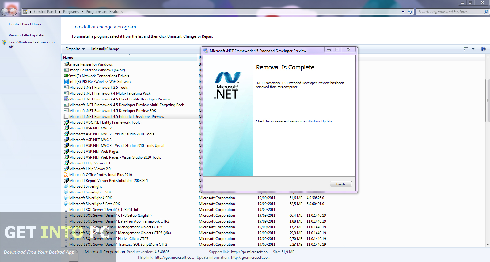 Net framework initialization error windows xp - 7f