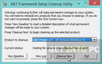 .NET Framework Cleanup Tool Latest Version Download